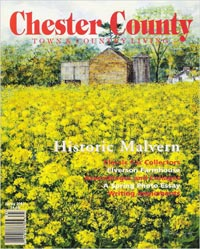 Chester County Town and Country Living Cover